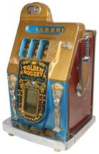 Mills Golden Nugget, mechanical slot machine