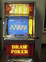 video poker, antique slot machines, thomas r. baker, california antique slots