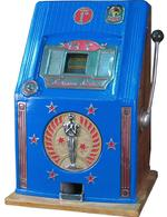 Mills Screen Stars slot machine, mechanical slot machines, california antique slots, inc.